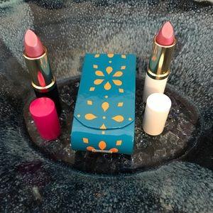 Estée Lauder-2 Tubes Lipstick & 1 Lipstick Case